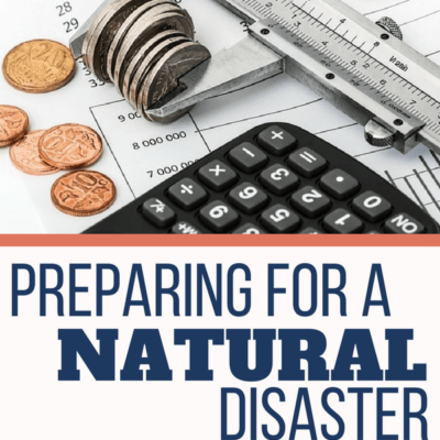 Preparing for A Natural Disaster on A Budget