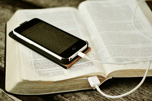 Bible On Mobile Device