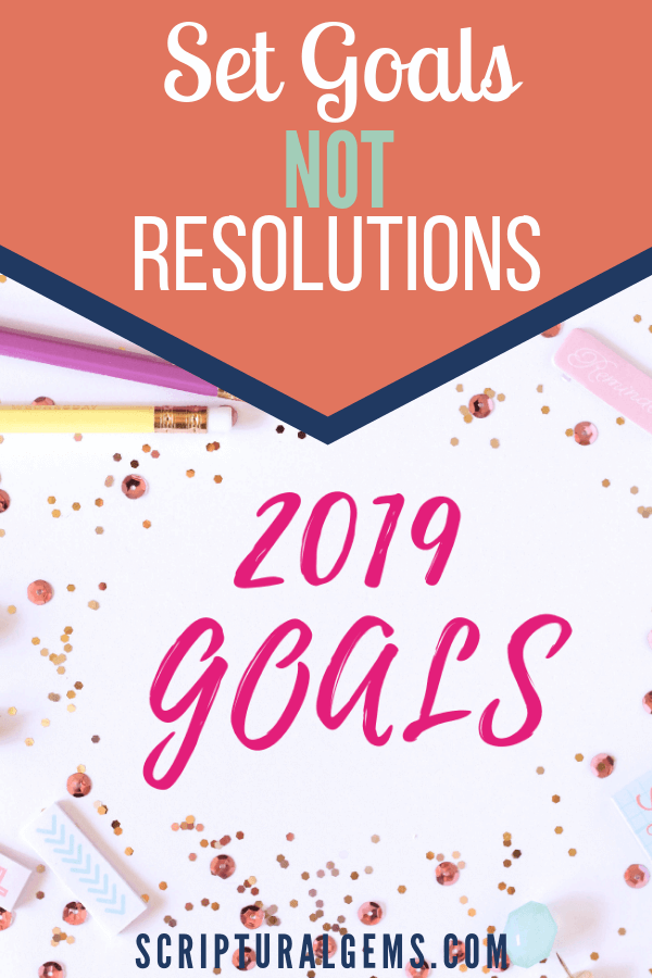 Set Your Goals for 2019