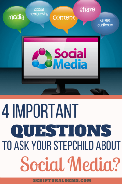 Questions to ask your stepchild about social media