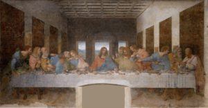 leonardo da vinci jesus last supper painting