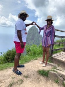 Anniversary Trip in St. Lucia