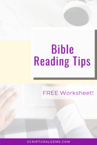 Bible reading tips to save time