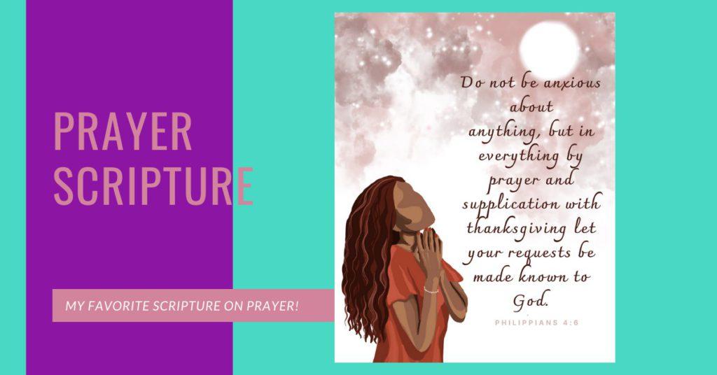 Prayer Scripture Sheets