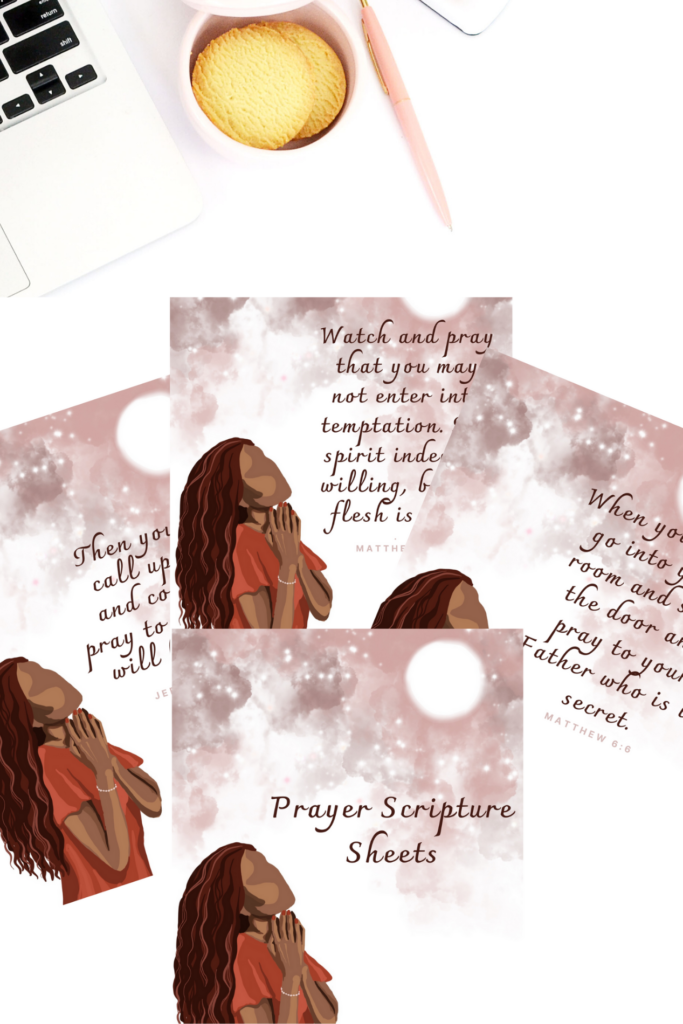 Printables on prayer